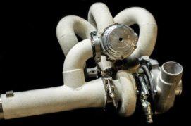 Керамическое покрытие газотермическим напылением Амфибия WaterCar, Турбо коллектор и турбина