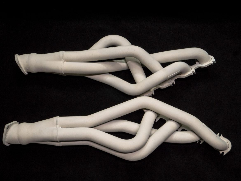 Керамическое покрытие газотермическим напылением Chevy Corvette атмо, коллектора